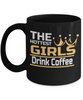 Image of Hot Girls Drink Coffee