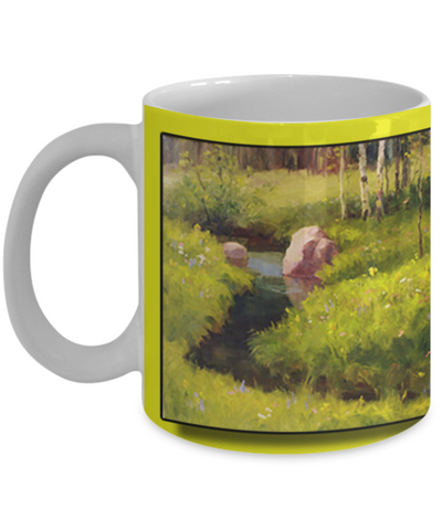 Jacqua Schmich - A Place To Rest - Coffee Mug - HobnobStore