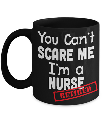 Cant Scare Me - Black