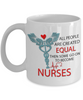 Nurses Are Not Created Equal - HobnobStore