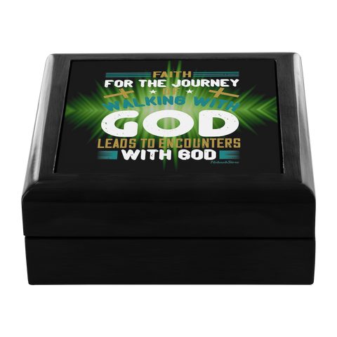 Jewelry Box-Walking With God-FREE Shpping