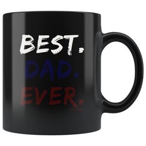 Best Dad Ever-Black Mug - HobnobStore