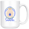 Image of Im Already Out Of My Quarantine Snacks-White Mug - HobnobStore