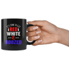 Image of Time To Get Red White and Boozed-Black Mug - HobnobStore