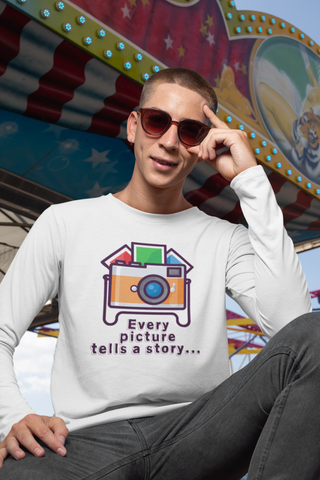 Image of Every Picture Tells a Story Long Sleeve - Hobnob Store