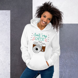 Just Say Cheese Hoodie - HobnobStore