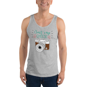 Just Say Cheese Tank Top - Hobnob Store