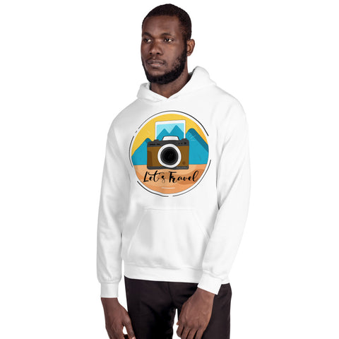 Image of Lets Travel Hoodie - HobnobStore