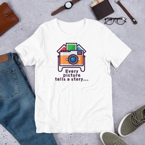Every Picture Tells a Story T-Shirt