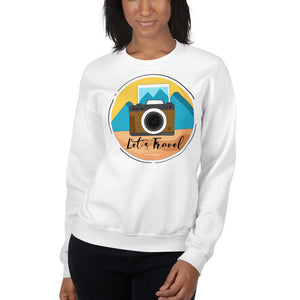 Lets Travel Sweatshirt - HobnobStore