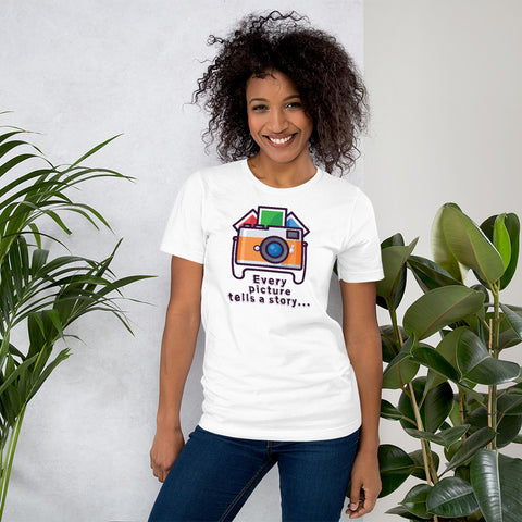 Every Picture Tells a Story T-Shirt - HobnobStore