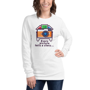 Every Picture Tells a Story Long Sleeve - Hobnob Store