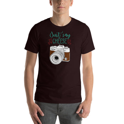 Just Say Cheese T-Shirt