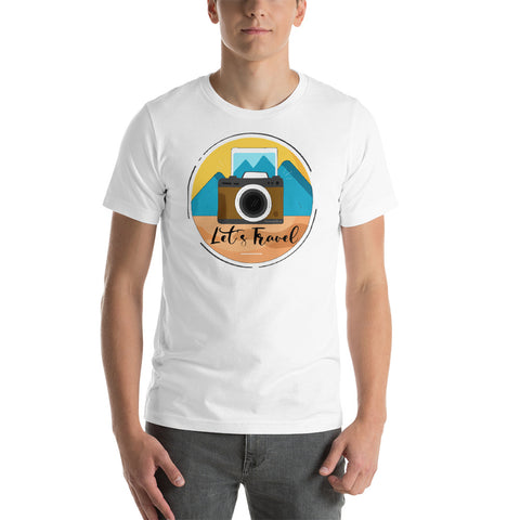 Lets Travel T-Shirt - HobnobStore