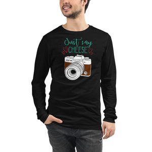 Just Say Cheese Long Sleeve - Hobnob Store