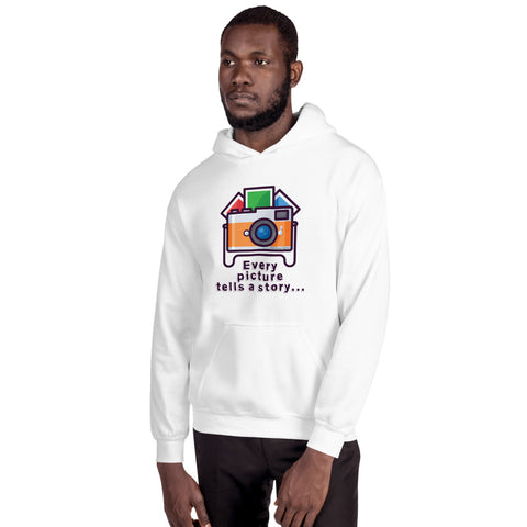 Every Picture Tells a Story Hoodie - Hobnob Store