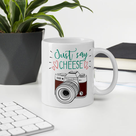 Image of Just Say Cheese Coffee Mug - HobnobStore