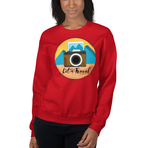 Lets Travel Sweatshirt - Hobnob Store
