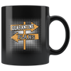 Quarantine Plans-Black Mug - HobnobStore