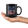 Image of We The People Like To Party-Black Mug - HobnobStore