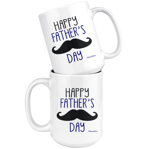 Happy Fathers Day1-White Mug - HobnobStore