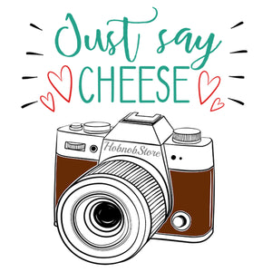 Just Say Cheese Coffee Mug - HobnobStore