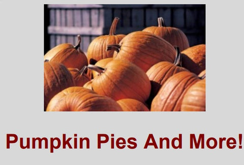 Pumpkin Pie Recipes - Free Download - HobnobStore