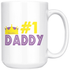 Image of #1 Dad-White Mug - HobnobStore