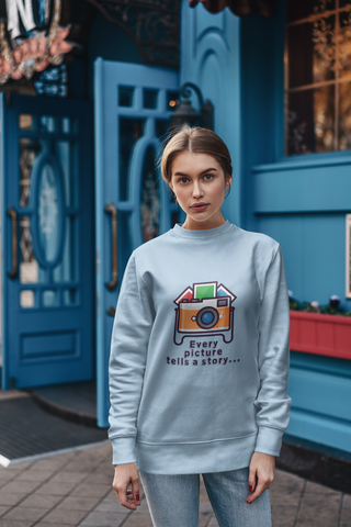 Image of Every Picture Tells a Story Sweatshirt - HobnobStore