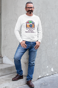 Every Picture Tells a Story Sweatshirt - HobnobStore