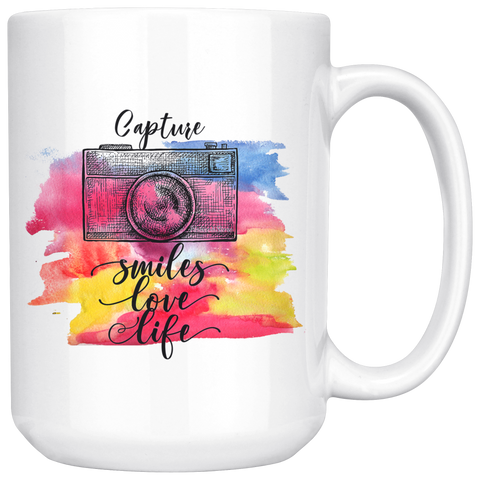 Capture Smiles Love Life - HobnobStore