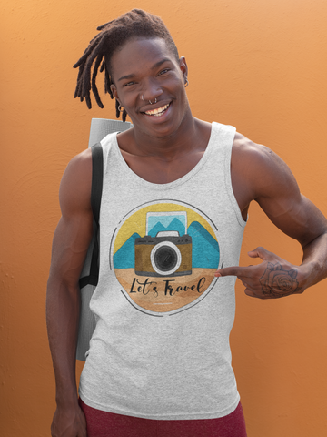 Lets Travel Tank Top - Hobnob Store