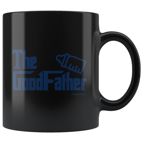 The GoodFather-Black Mug - HobnobStore