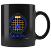 Image of Im Already Out Of My Quarantine Snacks-Black Mug - HobnobStore