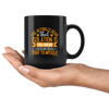 Image of Isolation Is The Enemy-Black Mug - HobnobStore
