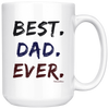 Image of Best Dad Ever-White Mug - HobnobStore