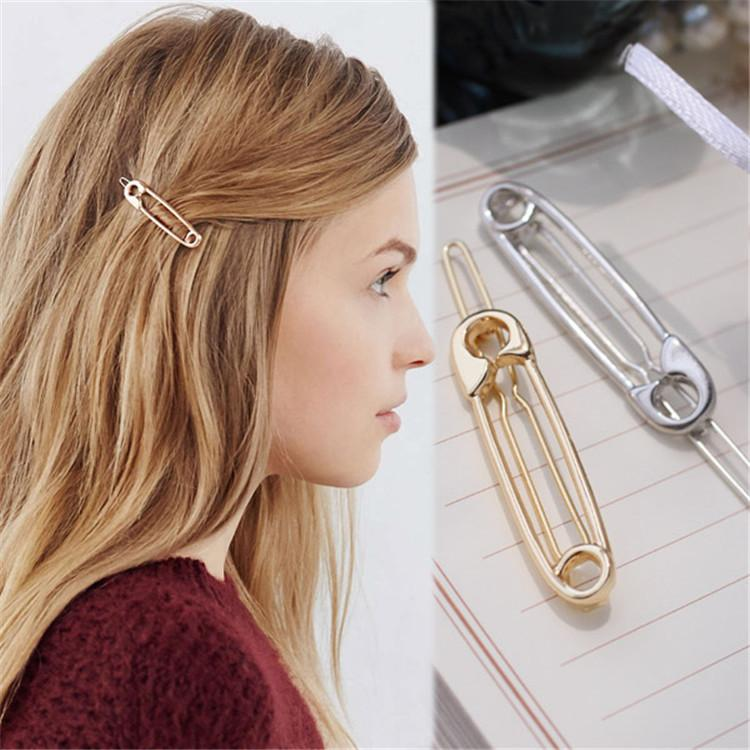 Image result for safety pin hair