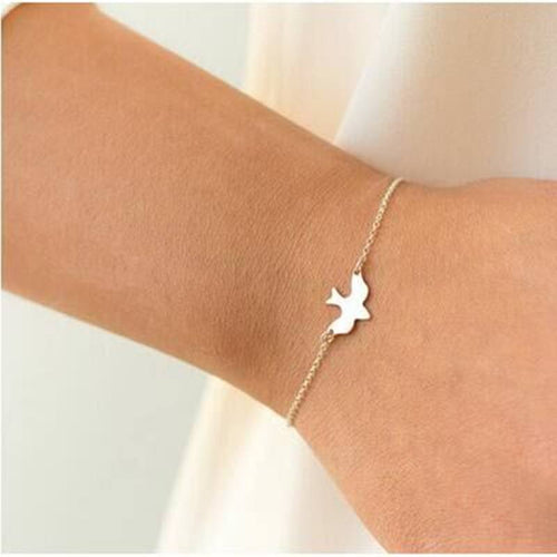 Soaring Bracelet - Light Yellow Gold Color