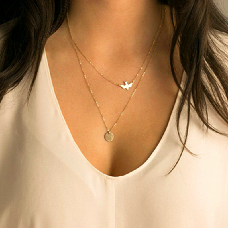 Dove Layers Necklace