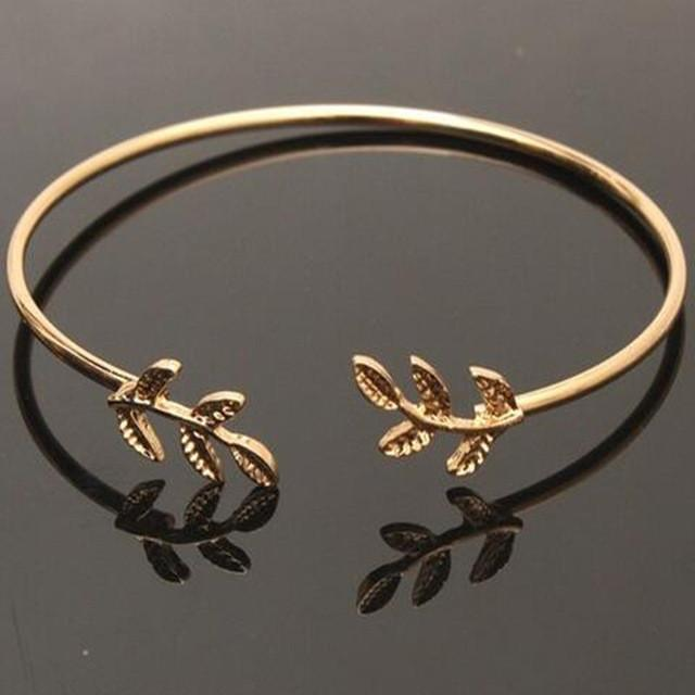 Autumn bangle - Gold