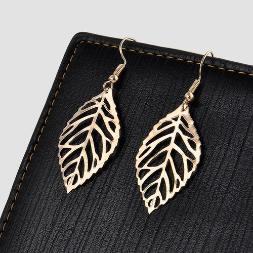 Autumn Wind Earrings - Gold