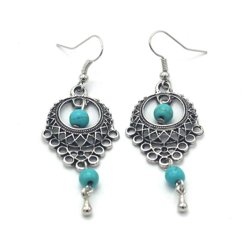 Desert Earrings - Silver