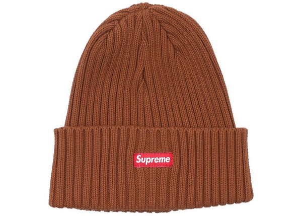 211d211c1 Supreme Overdyed Beanie (Rust)