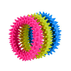 Rubber Dog Toy Ring