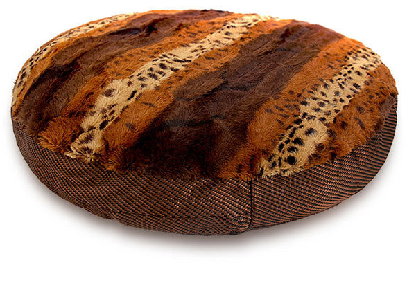 Cozy Warm Nest Leopard Pet Sofa