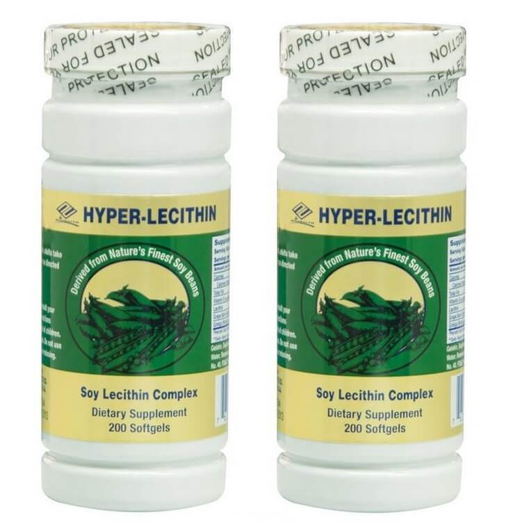 2 Bottles of Hyper Lecithin+Ginkgo+OPC+Vitamin E (200 Softgels)-Buy at New Green Nutrition