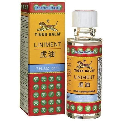 2 Bottles Tiger Balm Liniment (2 fl oz.)-tiger balm
