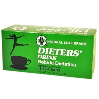 3 Boxes Natural Leaf Brand Dieter Drink Tea (18 Tea Bags)-natural leaf