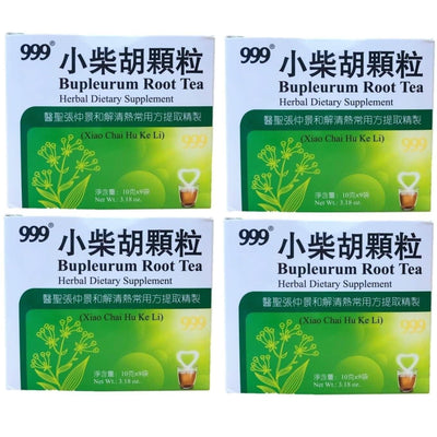 4 Boxes 999 Bupleurum Root Tea 10g (9 Bags Per Box)-Buy at New Green Nutrition