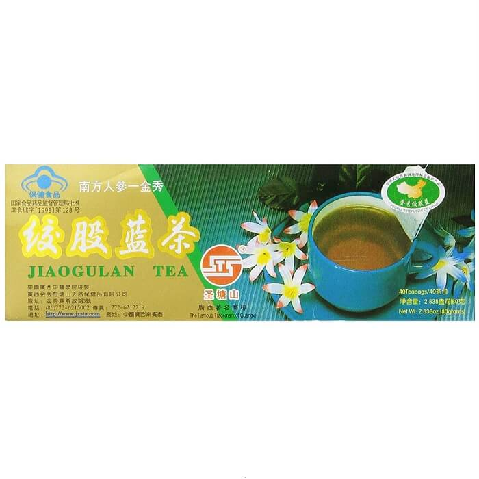 Chinese Jiaogulan Tea (40 Teabags)-Buy at New Green Nutrition